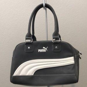 Gray Puma tote hand bag
